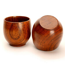 Wooden Cup Wood Coffee Tea Beer Juice Milk Water Mug Handmade Natural Home Bar