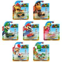 Hot Wheels Super Mario Collectable Set of 7 Vehicles