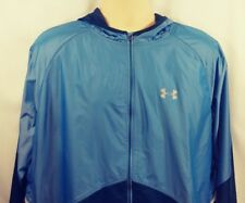 Under Armour Storm No Breaks Men's 3XL Blue Running Jacket New with Tags