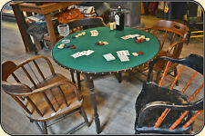 Gambler's Old West Poker Table FREE SHIPPING