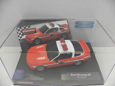Carrera 27177 Evolution slot car Ford Mustang GT FIRE CHIEF m.1:32