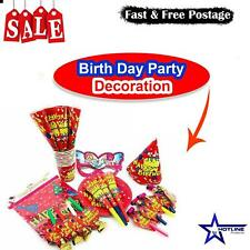 Unique Happy Birthday Balloons Banner Balloon Bunting Party Decoration Inflating