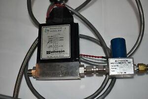 MATHESON Flux Mètre Transducteur Modèle 8141 500 Sccm (NP37)