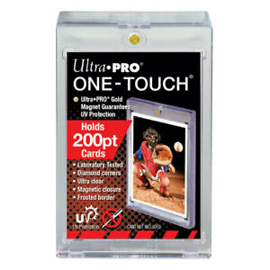 Ultra PRO One Touch - 200 PT Magnetic Card Case - Standard Size - UV Protected