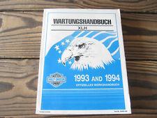 Service manual, Werkstatthandbuch, Wartungshandbuch für Sportster 1993, 1994