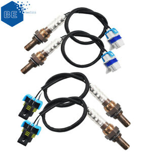 4x Upstream & Downstream Oxygen Sensor For 2003-2006 Cadillac Escalade EXT 6.0L