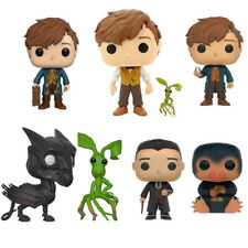 Movie Fantastic Beasts and Where to Find Them Newt Figure POP Keychain Kids Toys
