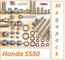 Classic Honda SS50 -  Nut / Bolt / Screw / Washer A2 Stainless MegaPack