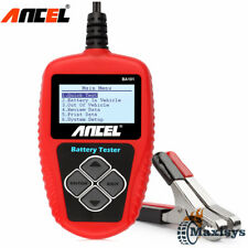 12V Car Battery Analyzer Portable Load Tester BA101 Up to2000 Cold Cranking Amps