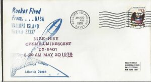 6/20/78 Nike-Nike Chemiluminescent Rocket Launched from Wallops Is