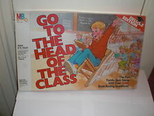 Go To The Head Of The Class board game. 1986 MB USA. Over 1000 questions. VGC.