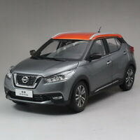 1/18 Scale Nissan 2017 Kicks Gray/Orange Diecast Model Car Toy Collection
