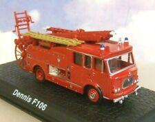 ATLAS/OXFORD 1/76 DIECAST DENNIS F106 SIDE PUMP FIRE ENGINE LONDON FIRE BRIGADE