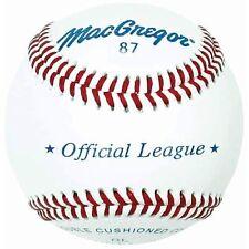 MacGregor #87OL Official League Baseball (ONE DOZEN)