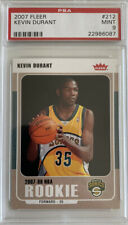 KEVIN DURANT 2007 FLEER #212 ROOKIE CARD RC Mint PSA 9 FREE S&H