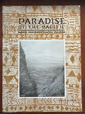Paradise Of The Pacific, Hawaii's Illustrated Monthly Magazine August 1926