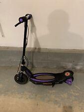 Razor Power Core E100 Electric Hub Motorized Kick Scooter, Purple (For Parts)