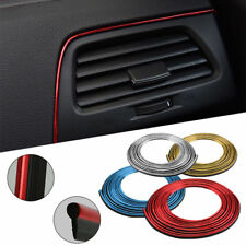 5M DIY Car Interior Decor Door Sticker Moulding Styling Strip Trim Decals Line