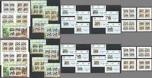 BU201 IMPERF,PERF 2011 BURUNDI SCOUTING BOY SCOUTS 18KB+16BL+20SET MNH