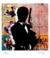 TABLEAU ART CONTEMPORAIN Bond Reproduction TEHOS serie limitee 250 ex  Pop art