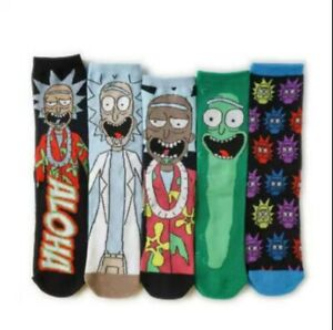 Rick & Morty Funky Mens Socks - BRAND NEW , UK STOCKIST, SAME DAY DISPATCH