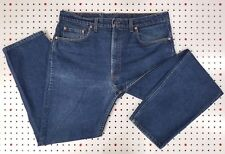 eUc! Made in USA! LEVIs Straight Dark Wash 505 (505-0216) tag:38x30 actual:37x30