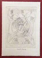 Heinrich C. Schwarz / Dieter Roth, Komposition I, Radierung, 1977, handsigniert