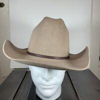 Stetson Silverbelly Cowboy Hat 4x Beaver Size 7 John B Stetson