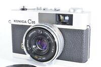 Konica C35 FD Rangefinder Film Camera w/ 38mm f/2.8 Lens [Excellent+] from Japan