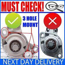 FITS VW BORA/POLO/VENTO/CADDY/BEETLE 1.6/1.8/2.0 95-05 PETROL NEW STARTER MOTOR