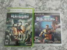 Dead Rising 1 and Dead Rising 2 Lot xbox 360 and ps3