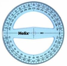 HELIX 10cm / 360 degree Protractor H03 - 100mm Diameter Angle Measure