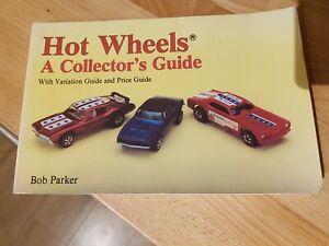 Hotwheels redline A collectors guide book vintage Bob parker olds 442 camaro