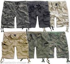 Brandit Loose Fit Cotton Shorts for Men
