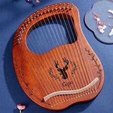 Tragbares kleines 16/19 Töne Lyre Harfe und Stimmschlüssel Geschenk für Kinder