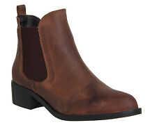 Pull On OFFICE 100% Leather Upper Boots for Women