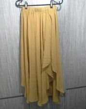 Unbranded Chiffon Solid Regular Size Skirts for Women