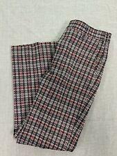 Higgins Slacks Vintage1960s Mens Plaid Straight Leg 34 X 30