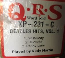 BEATLES HITS VOL. 1 Michelle/Yesterday/Penny L..  NEW  LONG PLAY  PIANOLA   ROLL