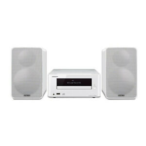 Onkyo CS-265 Home Audio System CD Hi-Fi Mini Stereo System with Bluetooth White
