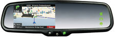 Rear View Mirror with GPS Navigation & Reverse Camera Input