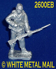 Military Lead Casting LA2600EB 24th Foot Enlisted Man Standing Reloading