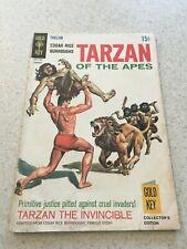 Tarzan Of The Apes Comic Book #182 VG/F  5.0  Gold Key Comics 1969