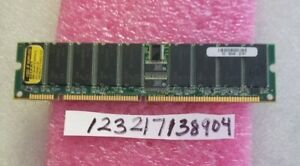 512MB   sdram sd sdr pc133r 133mhz 133 168pin single rank  rdimm 64X4  1RX4