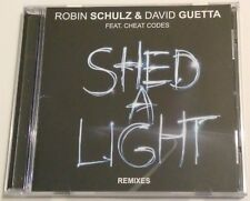 Robin Schulz & David Guetta - Shed a light. Remixes 2017 (Maxi-single, Promo)