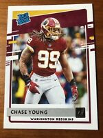 2020 Panini Donruss Chase Young Rated Rookie RC SP Washington