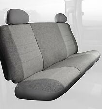 Fia Custom Bench Rear Seat Cover Gray Tweed Fits: 99-07 Silverado, Sierra