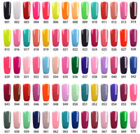 RS NAIL UV LED Gel Nail Polish Soak Off Glitter Pink Red 308 Colors Range Salon