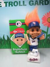 "New York Mets Bobble Head Troll - 9"" Russ Troll Doll - New In Box"