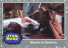Star Wars The Last Jedi Silver Base Card #54 Mission to Geonosis